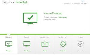 Настройка Norton Security Standard для Mac