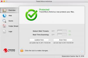 Настройка Trend Micro для Mac
