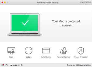 Настройка антивируса Kaspersky Internet Security для Mac