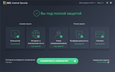 Ключи активации AVG Internet Security 2020-2021