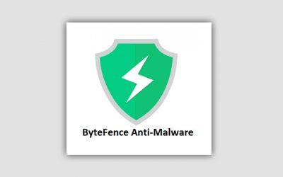 ByteFence Anti-Malware лицензионный ключ 2020-2021