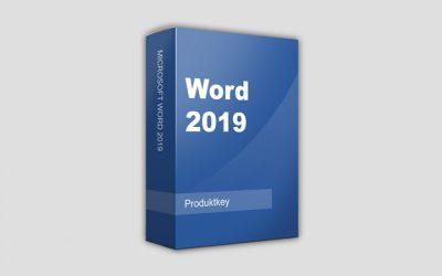 Лицензионный ключ Word 2019 на 2021-2022 год