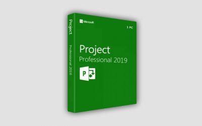 Ключи Microsoft Project Professional 2016, 2019, 2021