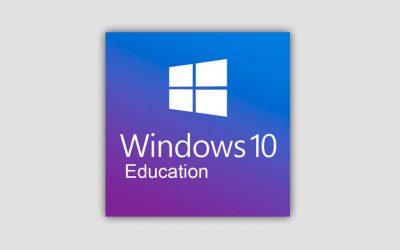 Ключи Windows 10 для образовательных учреждений 2021